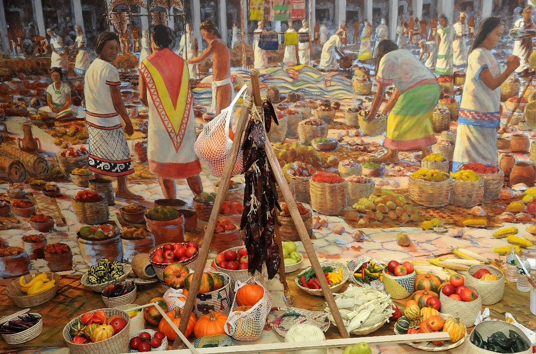 Image result for Aztec ancient food